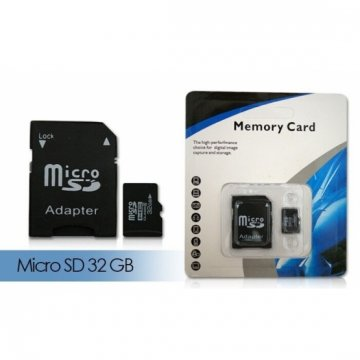 Micro SD Karta 32GB/64GB + adaptér